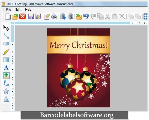 Greeting Card Software screenshot