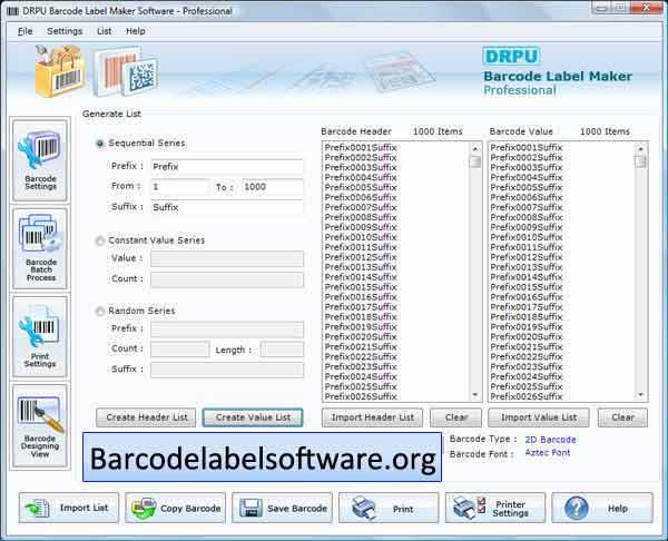 Windows 7 Barcode Label Software 7.3.0.1 full