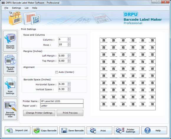 Windows 7 Barcode Free 7.3.0.1 full